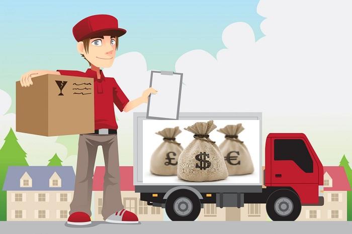 Nhận kí gửi và ghép hàng